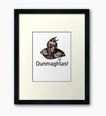 For Honor - Highlander Dunmaghlas Framed Print