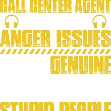 Call-Center-Agent Call-Center-Operator Call Centre by Krautshirts