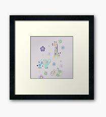 Carter's Zoo Collection Framed Print