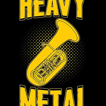 Heavy Metal Apparel by MusicReadingSav