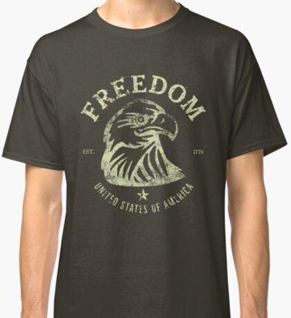 American Freedom & Bald Eagle Classic T-Shirt