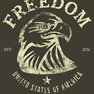 American Freedom & Bald Eagle by Chocodole