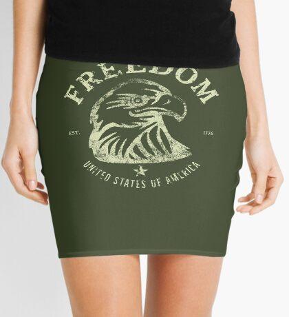 American Freedom & Bald Eagle Mini Skirt