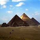 Giza Necropolis  by Wayne Gerard Trotman