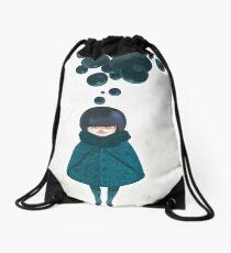 bubbleblue Drawstring Bag