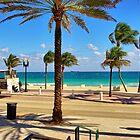 Fort Lauderdale Beach Promenade, Florida by coralZ