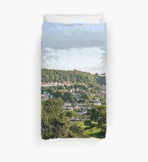 Lyme Regis Landscape Duvet Cover