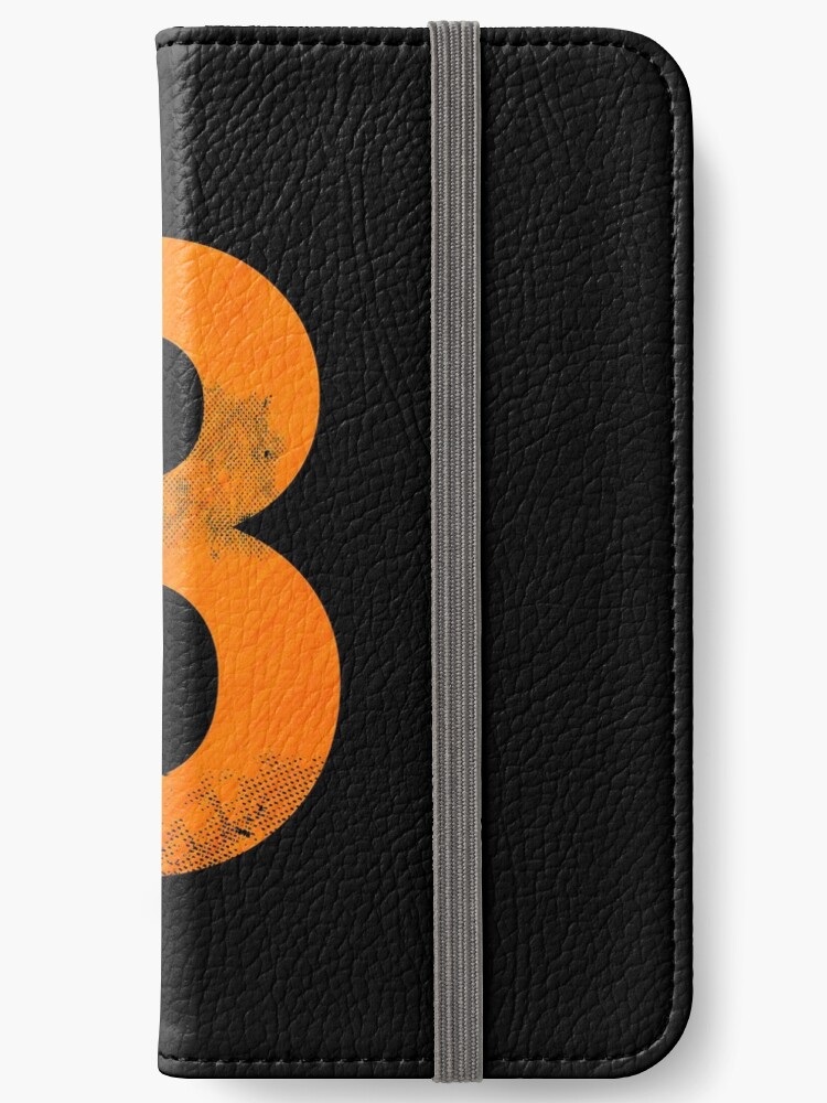 ''Basketball Lucky Number 8' Awesome Lucky Number Gift' iPhone Wallet by  leyogi