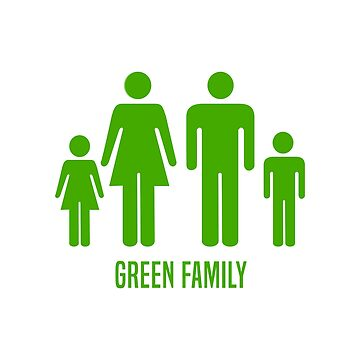 Green Family by fourretout