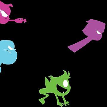 Team Teen Titans Go by Leezy-Loops