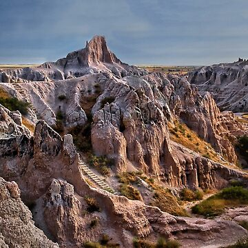 Hiking the Badlands by kdxweaver