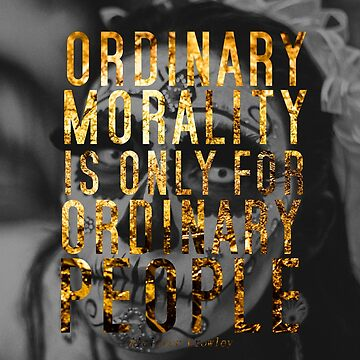 Ordinary Morality by SquirrelAndBear