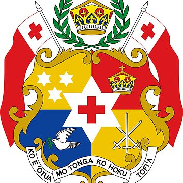 Coat of arms of Tonga by PZAndrews