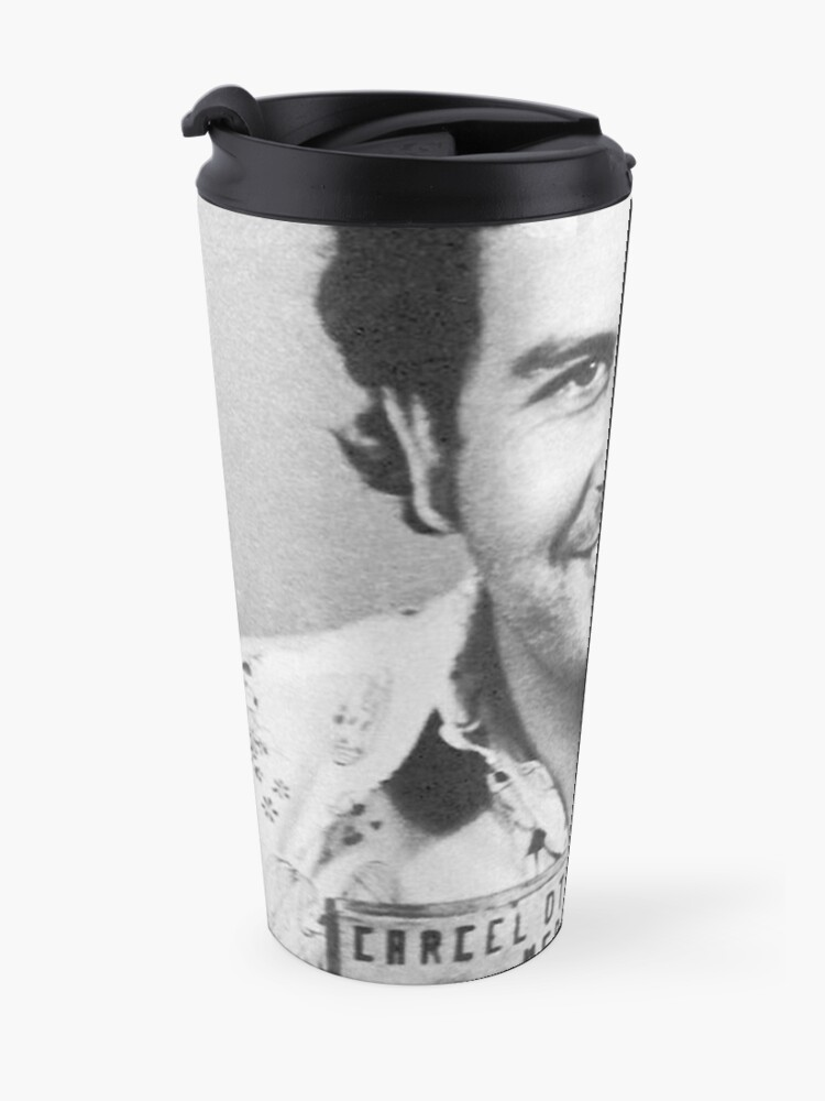 Alternative Ansicht von PABLO ESCOBAR MUGSHOT Thermosbecher