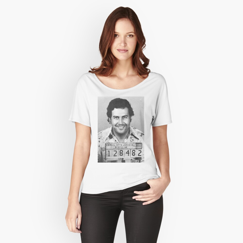PABLO ESCOBAR MUGSHOT Baggyfit T-Shirt