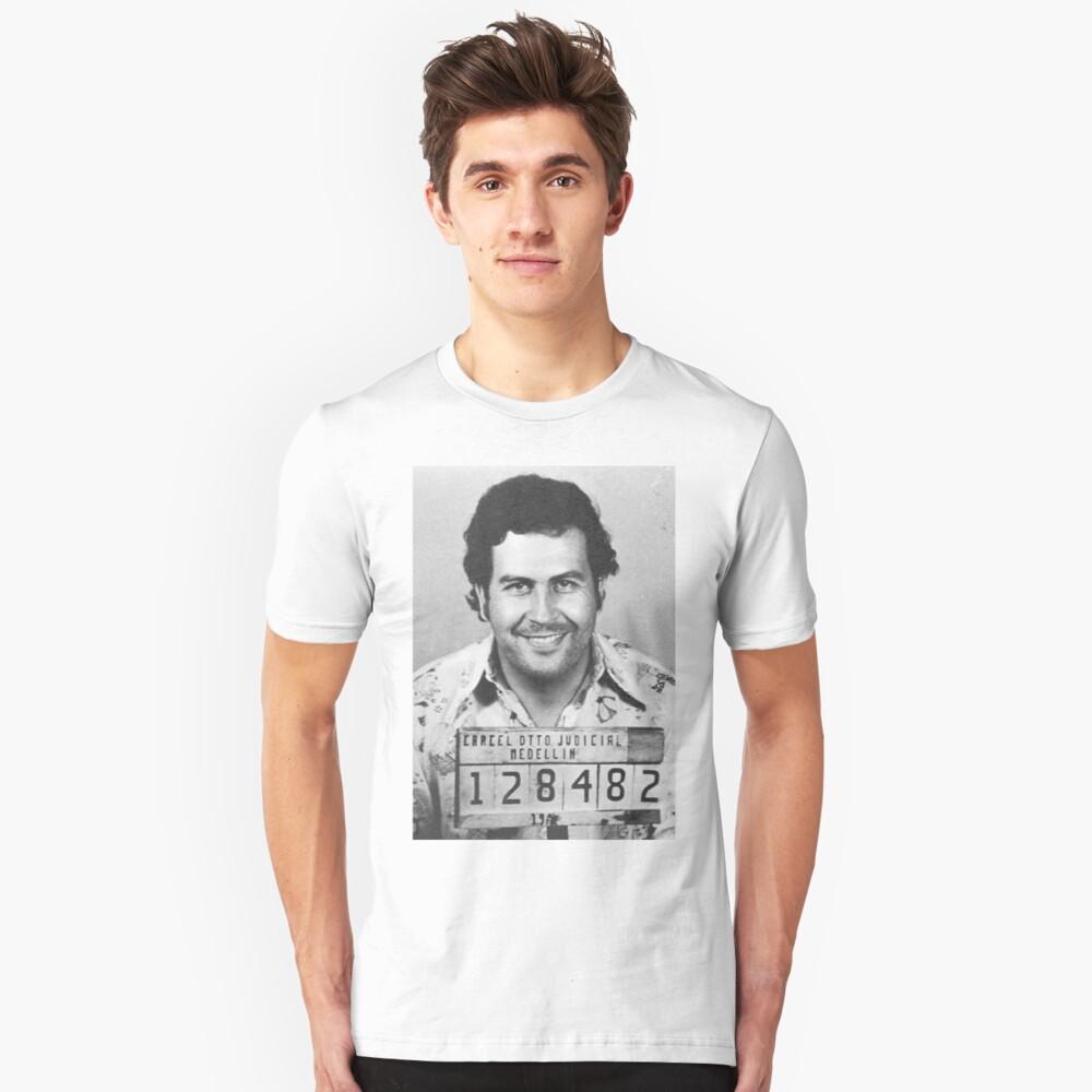 PABLO ESCOBAR MUGSHOT Camiseta unisex