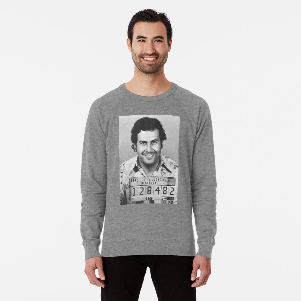 PABLO ESCOBAR MUGSHOT Leichtes Sweatshirt
