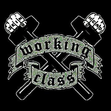 Working Class Skinhead by PunkRockMetal