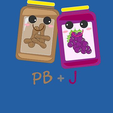 PB+J Cute Peanut Butter & Jelly Matching Costume Set Arts by NBRetail