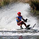Water Skier-Yarra River,Melbourne by graeme edwards