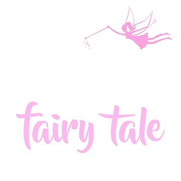 Write Your Own Fairy Tale Fairy T-Shirt Feminine Tee by noirty