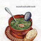 La Cuisine Fusion series - Mussel with Caldo Verde by Pickle-Films