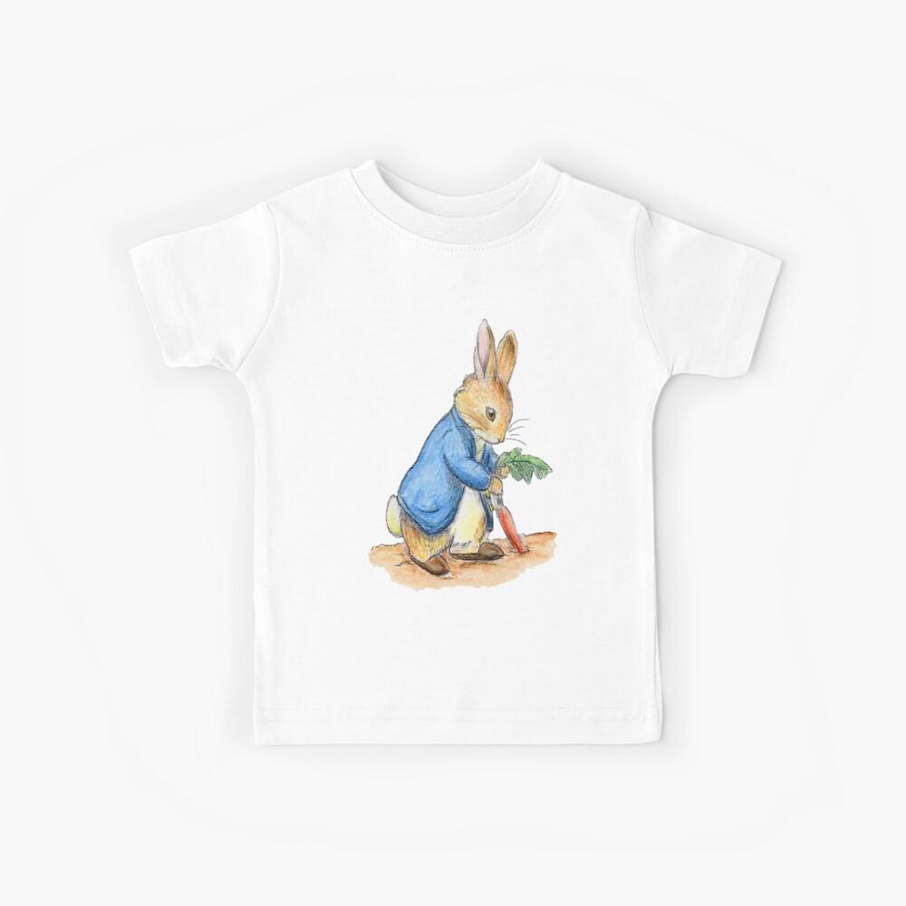Kindergartenfiguren, Peter Rabbit, Beatrix Potter. Kinder T-Shirt