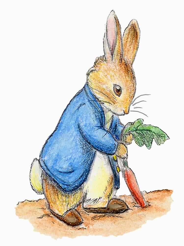 Kindergartenfiguren, Peter Rabbit, Beatrix Potter. von TOMSREDBUBBLE