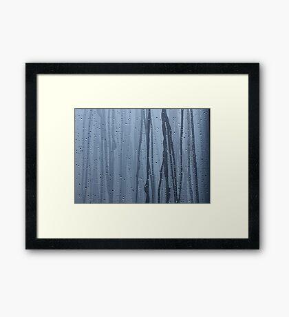 Furukawa Onsen: blue Framed Print