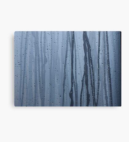 Furukawa Onsen: blue Canvas Print