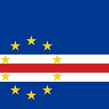 Flag of Cape Verde  by virginia50