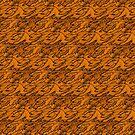 Halloween Monstrum Tessellations by zeljkica