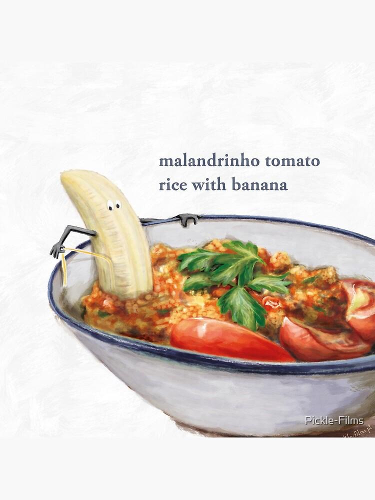 La Cuisine Fusion - Malandrinho Tomato Rice with Banana by Pickle-Films
