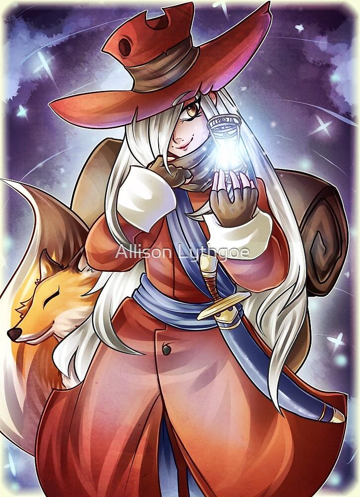 Adventurer Deneb by Allison Lythgoe