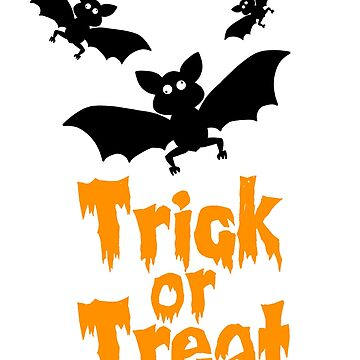 trick or treat bats by Mamon
