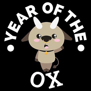 Chinese Zodiacs Year of the Ox 2 Cute - Gift Idea by vicoli-shirts