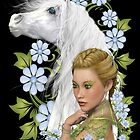 The Lady and the Horse by LoneAngel
