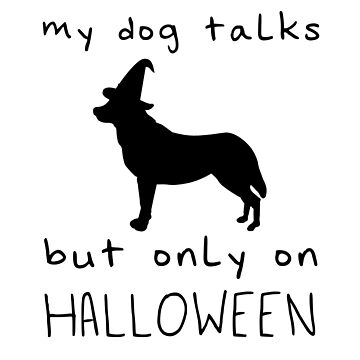 Halloween Talking Dog by Switch01