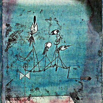 Paul Klee artwork, Twittering Machine by virginia50