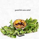 La Cuisine Fusion series - Pastel de Nata Salad by Pickle-Films