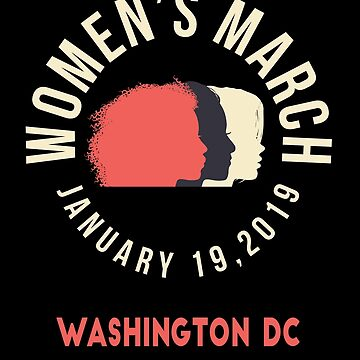 Women's March 2019 Washington DC by oddduckshirts