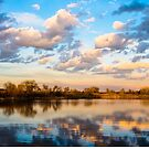 A Calm Reflective Evening by DenverCool