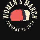 Women's March 2019 by oddduckshirts
