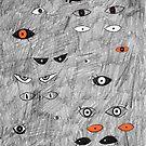 Halloween Eyes in the Dark by Chrissy Curtin by Chrissy Curtin
