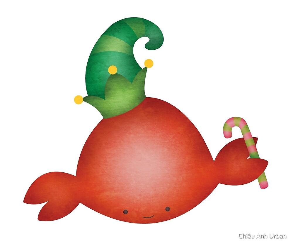 Holiday Crab Elf by Chiêu Anh Urban