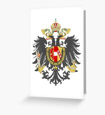 Imperial Coat of Arms of the Austrian Empire Greeting Card