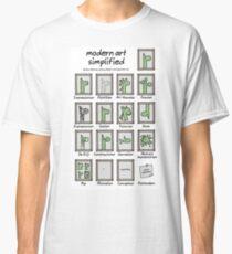 modern art simplified Classic T-Shirt