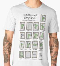 modern art simplified Men's Premium T-Shirt