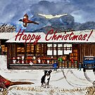 Winter Life Christmas Card by EuniceWilkie