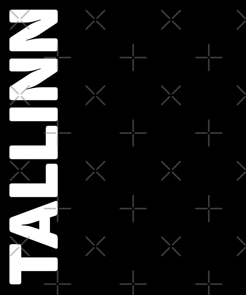 Tallinn T-Shirt by designkitsch